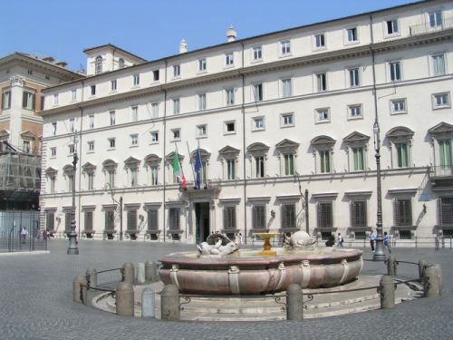 Roma, palazzo chigi 3