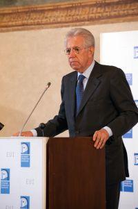 Il presidente Monti