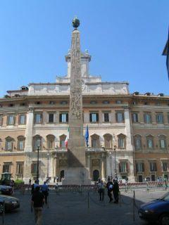 Roma, Piazza Monte Citorio