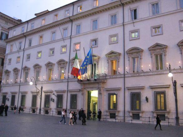 Roma, Palazzo Chigi (sede del Governo)