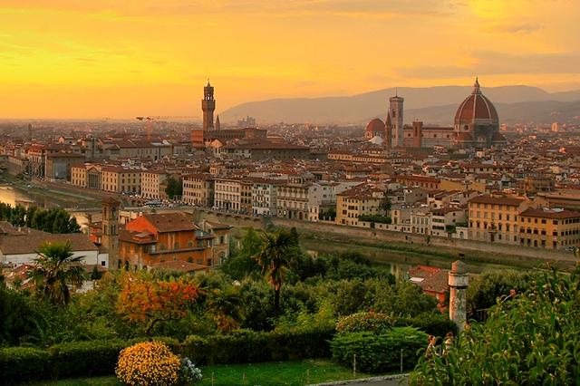 Firenze-tramonto
